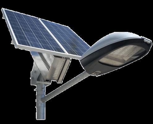 پنل خورشیدی تیر چراغ برق