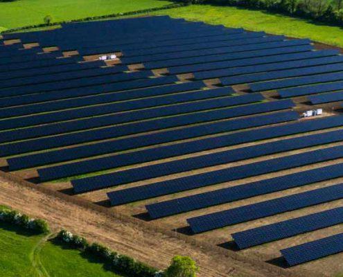 نیروگاه خورشیدی مقیاس بالا