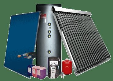 آبگرمکن های خورشیدی نورسان