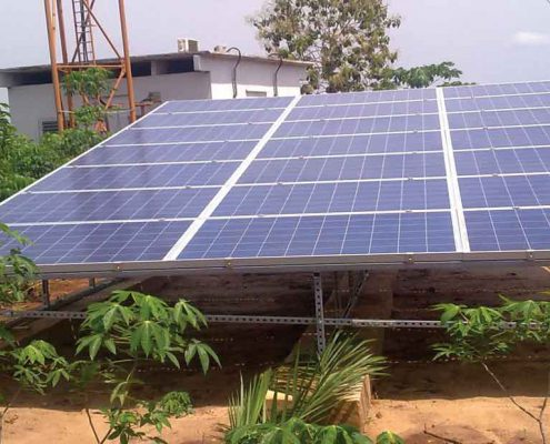 پمپ آب خورشیدی کم مصرف