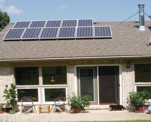 برق خورشیدی ساختمان ها