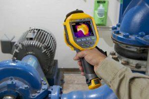 دوربین های حرارتی برای هدر رفت انرژی در موتورخانه