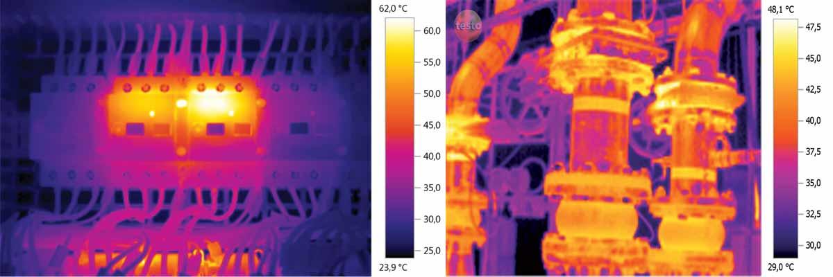 تصویر برداری حرارتی برای هدر رفت انرژی خطوط تولید