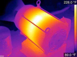 عیب یابی قطعات با استفاده دوربین حرارتی