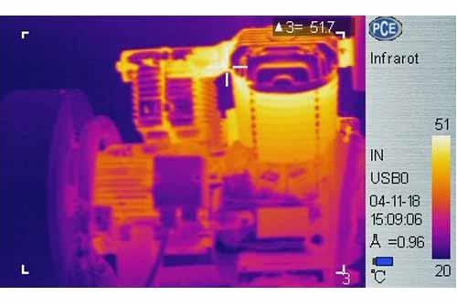بررسی حرارتی یک کمپرسور هوا