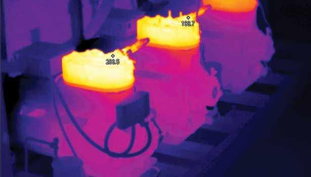 عکس حرارتی موتورخانه
