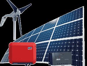 سیستم های خورشیدی و بادی