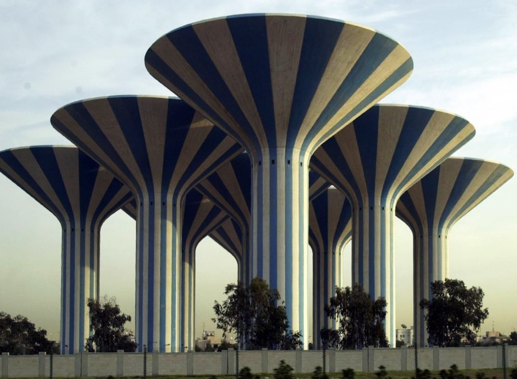 Kuwait_Water_Towers